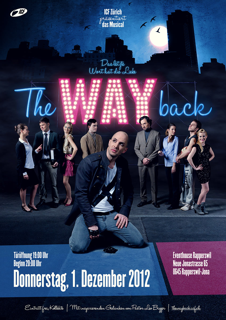 Plakat Musical The Way Back